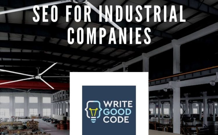 seo for industrial manufacturing companies